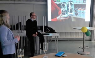 Minikoulutus henkilöbrändistä Tampereen Teknillisen yliopiston Porin yksikön henkilökunnalle.