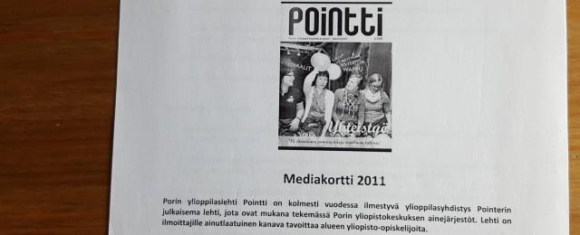 Pointin mediakortti