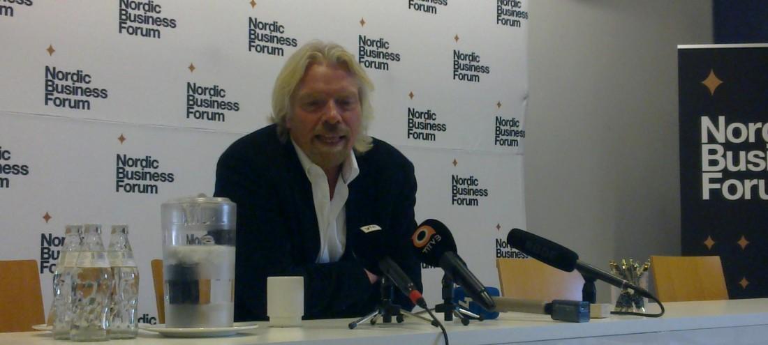 Richard Branson, Nordic Business Forum 2012
