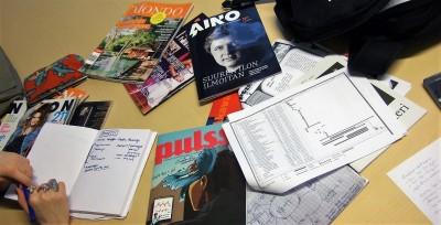 Porin ylioppilaslehden suunnittelukokous