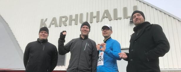 Elinarin Tekoälytaistelijat Karhu-viestissä 2018