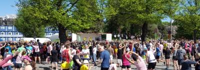 Helsinki City Run - alkulämmittely